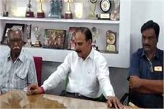 now the former mla has a sting on the cm