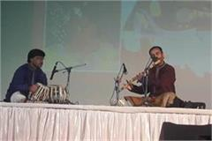haridutt bhardwaj made the flute play an enchanting audience