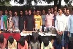 11 badmash arrested in police