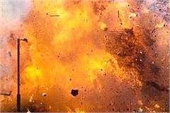illegal explosion in illegal cracker factory 2 killed 1 injured