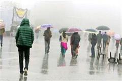 rainfall and snowfall in himachal temperature below zero in kelang