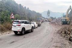 work of kalka shimla highway not completed in 3 years