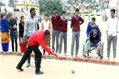 everyone surprised to see the skill of the divyangs in sports competition