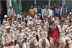 ambah peoples new initiative honors the speech of itbp after election duty