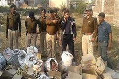 police s big operation caught 40 bottles of liquor used in elections