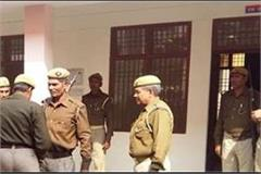 agra theft in police station 3 revolvers and 67 cartridges disappeared