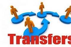 ips officers transferred at large level in the state