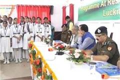 dgp honored children in police line on children s day