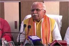 cm khattar said every congress leader wants to be chief minister