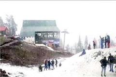 snowfall in rohtang pass and lahaul valley