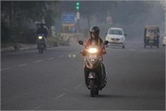 delhi air quality is also slightly improved in speed of air