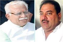 abhay chautala reply to cm manohar bjp handle those mlas first