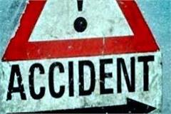 painful incident  car fall from bridge death of driver