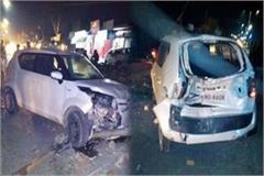 turck hit the 5 cars in tahaliwal
