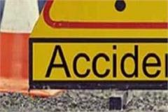 painful incident  car fall from bridge death of one 3 injured