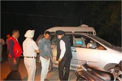 akali dal assassins attack on district head of amritsar