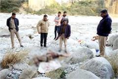 deadbody found under the bridge