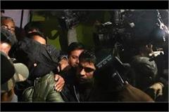 suhail being arrested from amroha by nia student of deoband madrassa