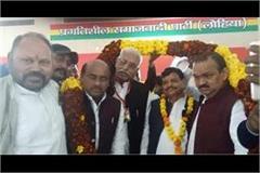 shivpal made pre legislator sunder lal lodhi state president of party