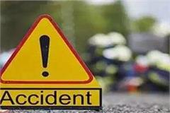 dreadful road accident two students die on nh 71