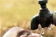 people from panchayats wandering for water