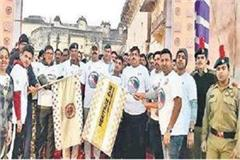 go heritage run held in orakha