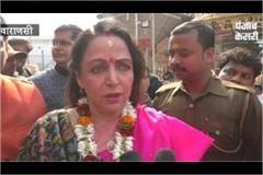 hema malini signs up for kashi vishwanath blesses her with baba