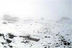 changed weather in rohtang pass