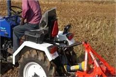 sales of growing mini tractors in haryana and punjab