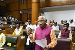 issue of loan forgiveness of guna farmers in haryana assembly