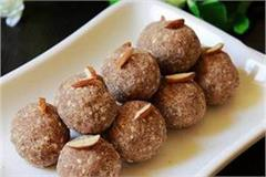 sugar free ragi oats ladoo recipe