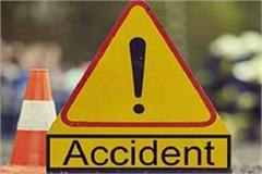 1 dead with accident in khargone