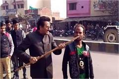 bjp leader s hideout in sambhal imprisoned in camera