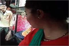 rto madam s video viral people warmly