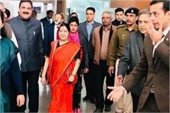 foreign minister reached varanasi