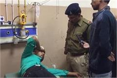 when the young man ate poison at the police station