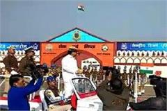 the parade of crpf passing out in gururgram