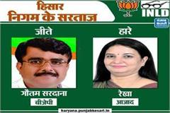 mc election result of hisar
