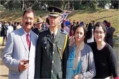vikramaditya become lieutenant in army