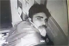 atm loot cctv footage in yamunanagar