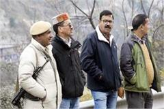 big action of pwd in kullu started work to remove the illegal occupation