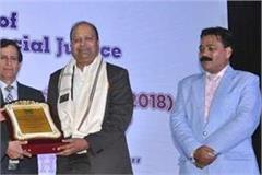j c bose university vice chancellor prof dinesh kumar honored