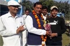 valmiki society gave support to bsp