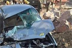 painful car accident in solan