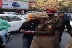 senior akali leader detained at rajiv gandhi body