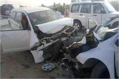 10 injured in road accident fatehabad