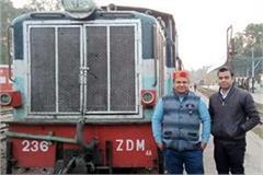 train run on pathankot jogindranagar track on the railway minister s instruction