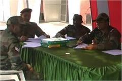 army officers settled pension court and medical camps in bhiwani