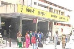 dead body found at bhiwani railway junction