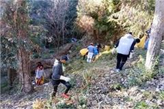 cleanliness campaign run in cantonment council dalhousie
